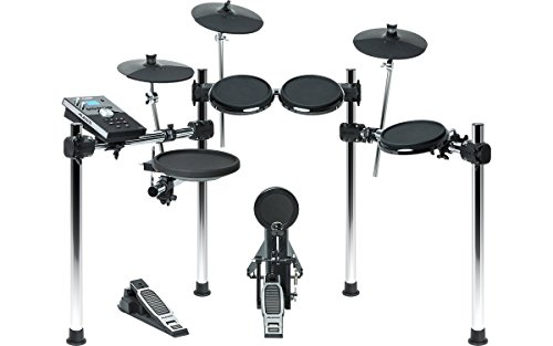 Alesis Forge Kit | Eight-Piece Electronic Drum Set with Forge Drum Module and USB Port for User-Loaded Samples Drum Midi Files