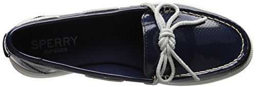 Sperry Top-sider Donna Oasi Canale Patent Perf Barca Shoe Navy