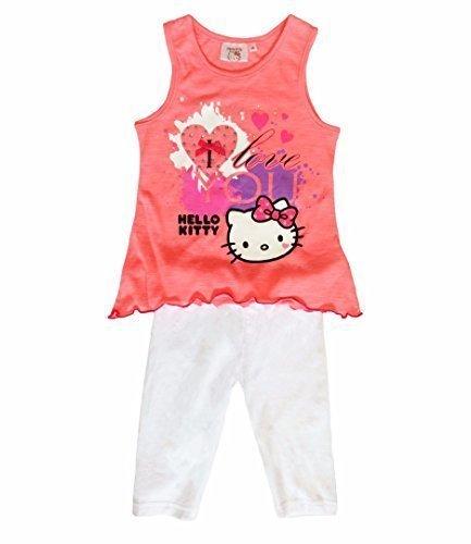 Hello Kitty Kids tunica, vestito e leggins per bambine, colore: rosa colore: rosa rosa 3 anni 03116