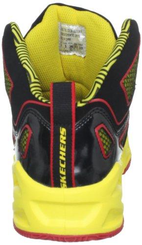 Skechers HoopzBankshot - Zapatillas de material sintético niño multicolor - Mehrfarbig (BKYR)