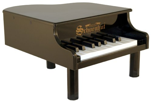 Schoenhut 18-Key Mini Baby Grand - Black