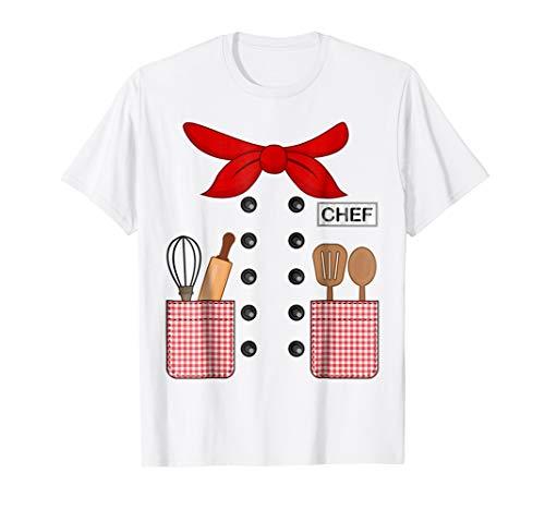 Chef Cook Halloween Costume T-shirt Kids Adults