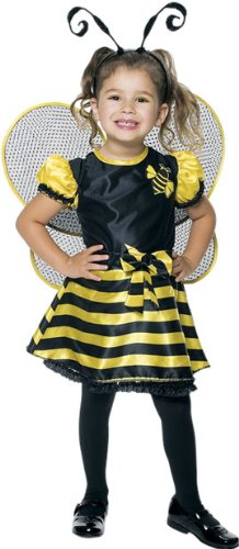 [Bumble Bee Toddler With Wings Costume, 2T] (Bee Toddler Costumes)
