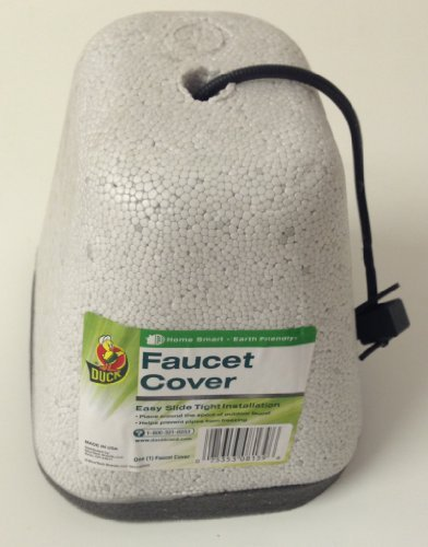 [STYROFOAM FAUCET COVER by DUCK MfrPartNo 280468] (Homemade Cupcake Costumes For Adults)