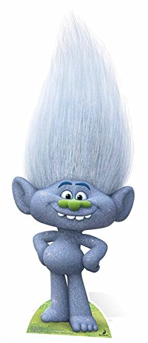 SC927 Guy Diamond - Trolls Cardboard Cutout - Cut Out Diamond