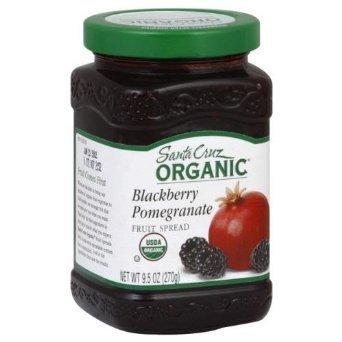 Santa Cruz Organic Fruit Spread Blackberry Pomegranate -- 9.5 oz