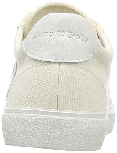 Donna Bianco 104 80214433501801 white Sneaker silver Marc O'polo tTpqxwSnSg
