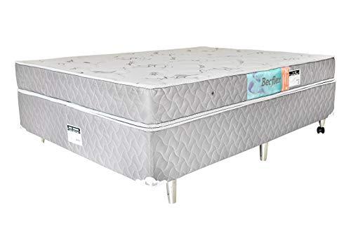 Conjunto Box Completo Solteiro Becflex D33 Kg/m³ 0,88 x 1,88 x 0,46 (Cama Box + Colchão)