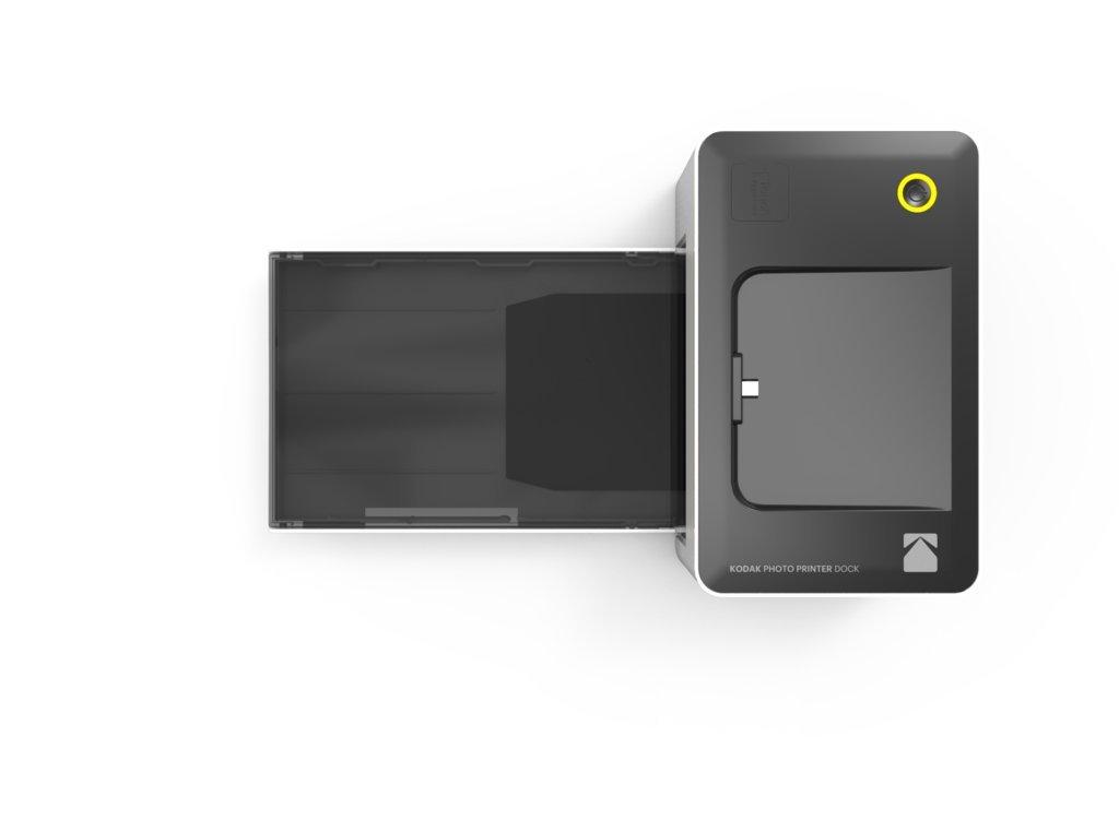 Kodak PD-450WE WiFi Negro, Color Blanco Impresora de Foto - Impresora fotográfica (16,7 M, 4