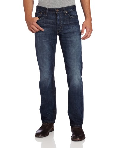 Levi's Men's 513 Stretch Slim Straight Jean, Quincy, 34x32 (Essential Slim Jean)