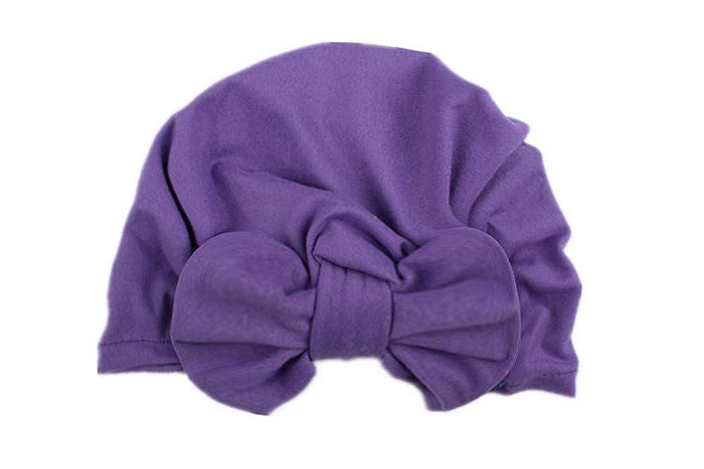 9 Chapeaux pour Filles Tout-Petits en Coton Doux Turban Inde Accessoire pour Nouveau-n/é pour Filles de 0 /à 5 Ans XUNQIARS Ensemble Cadeau pour b/éb/é