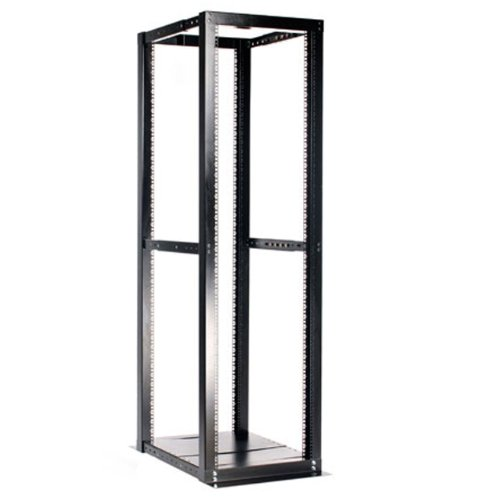 StarTech.com 42U Adjustable 4 Post Open Server Equipment Rack Cabinet - 42U Open Frame Rack Server Cabinet - Four Post Rack by StarTech