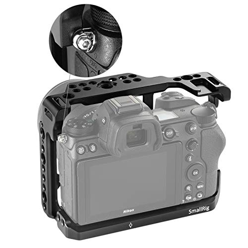 SMALLRIG Camera Cage for Nikon Z6/ Z7 Camera with Built-in NATO Rail and Cold Shoe 2243 by SMALLRIG (Image #3)