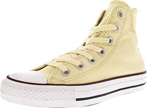 (Converse Unisex Chuck Taylor Classic Hi White Sneaker - 3.5 Men - 5.5 Women )