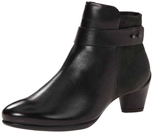 Ecco Boot 45 Womens Ankle Black Sculptured Footwear rSrw7