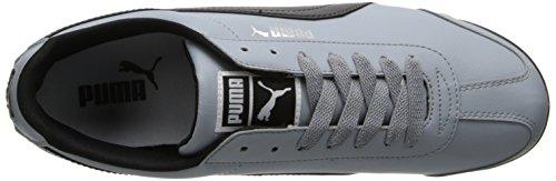 Puma - Zapatillas para hombre Quarry-Black-Puma-Silver