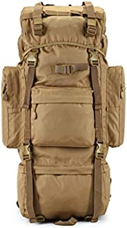 Coco Professional Outdoor Hiking Backpack, Anti-Pressure Inner Frame, Waterproof Sand-Proof Mountain or Jungle