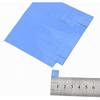 Wathai 100pcs 10x10x1mm Soft Silicone Thermal Conductive Pads Heat Sink Chip Cooling Heatsink pad