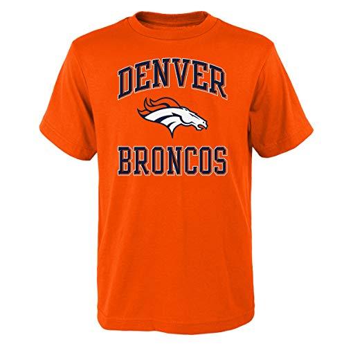 - Outerstuff Denver Broncos Youth NFL Ovation Short Sleeve T-Shirt