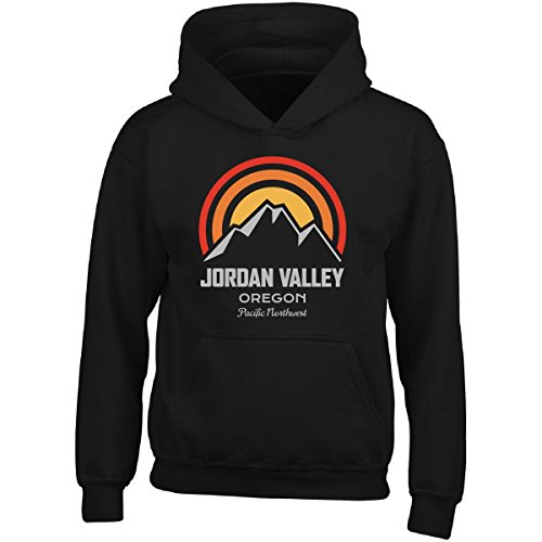 Mountain Sunrise Jordan Valley Oregon - Adult Hoodie 3XL Black by KewlCover