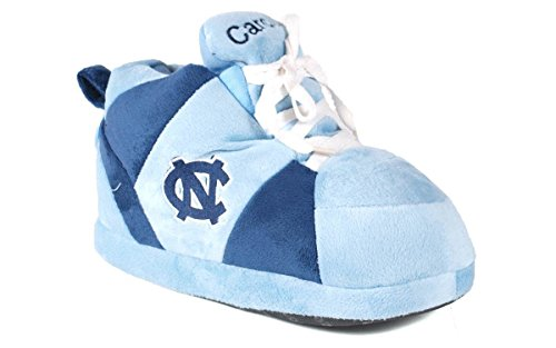 Gelukkig Voeten Heren En Dames Officieel Gelicenceerde Ncaa College Sneaker Slippers Noord Carolina Teer Hakken