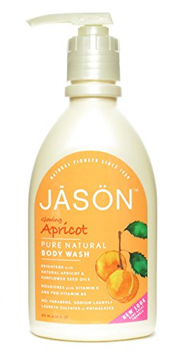 Jason Satin Shower Body Wash Apricot -- 30 fl oz
