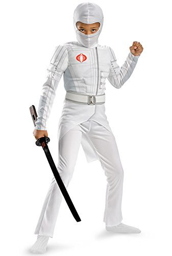 Shadow Deluxe Storm (Storm Shadow Light-up Deluxe Muscle Costume - Medium by Disguise)