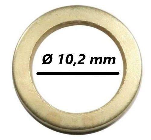 Au/ßen /Ø 15,8 mm//Innen /Ø 10,2 mm 100 Fitschenringe