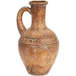 Deco 79 61772 Ceramic Tuscan Urn