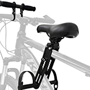FANQIE Baby Bike Seat, Soft Road Bike Bicycle Saddle, Comfortable Mountain Bike Quick Release Bicycle Child Se