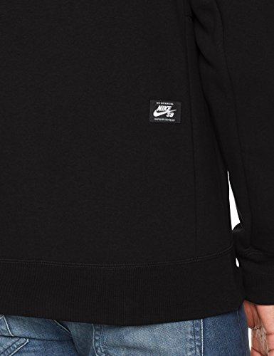 Blanc Po Taille Hoodie Pour Noir Homme Sweatshirt Nike Icon Sb EwqwzP