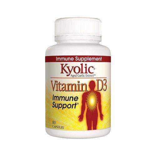 Vitamin D3 Immune Support Capsules 80 Capsules