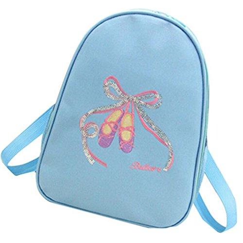 George Jimmy Kids Dance Bags Travel Backpack School Bags Girls Backpacks Side Bags Blue by George Jimmy