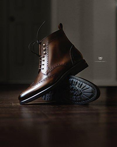 cheap original cheap sale discounts Southern Gents Rogue Wingtip Boots Dark Brown footaction sale online 47XmAxc