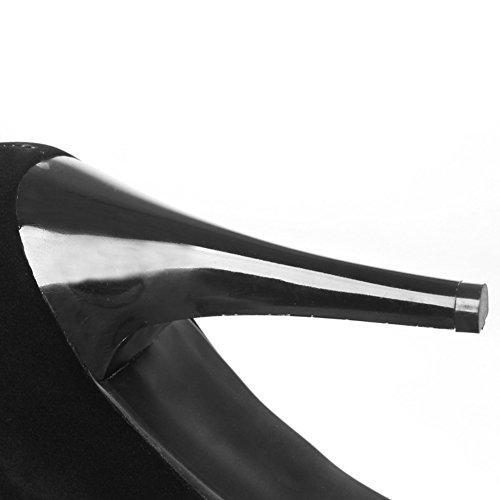 1to9mns02262 Zapatilla Negro Baja 1to9 Mujer R4xw6qRd