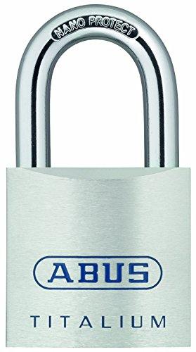 ABUS 80TI/50 Titalium Aluminum Alloy Padlock- Nano Protect...