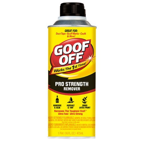 - Goof Off FG653 Professional Strength Remover, Pourable 16-Ounce