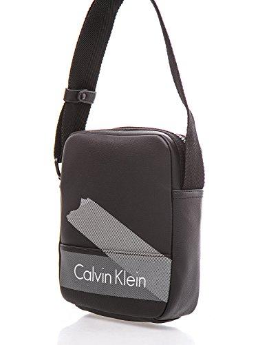 CALVIN KLEIN - Borsello a tracolla da uomo borsa cole reporter nero