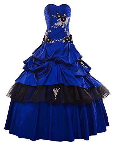TOSKANA BRAUT - Vestido - trapecio - para mujer Azul - Royal Blue 52