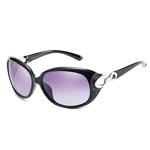 Oversized Stylish Fashion Polarized Sunglasses for Women Driving 100% UV Protection … - Uvb Sunglasses Polarized Uva