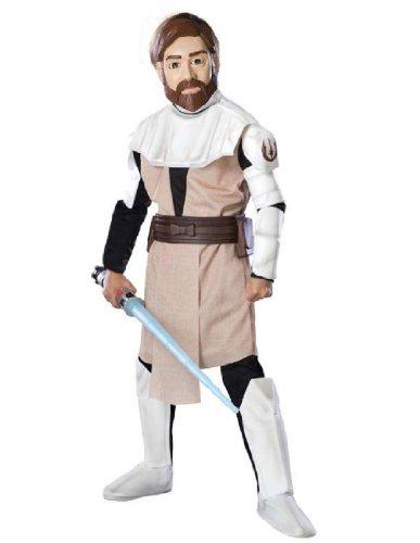 [Rubie's Deluxe EVA Obi Wan Kenobi - Child Large] (Obi Wan Kenobi Baby Costumes)