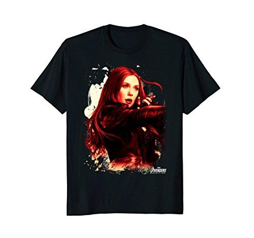 Marvel Infinity War Scarlet Witch Portrait Graphic