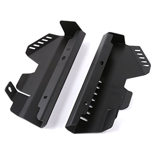 Radiator Water Coolant Resevoir Tank Side Cover For Yamaha MT07 FZ07 2013-2017 Side Radiator Guard Grill Cover (Black)