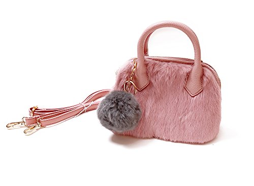 frills-girls-furry-purse-perfect-handbag-for-kids-teens-and-women-leather-purse-with-fur-and-shoulde