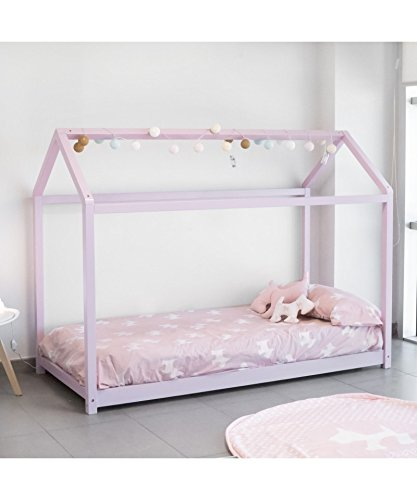 Cama Montessori Color Rosa