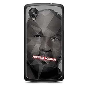 Micheal Jordan Nexus 5 Transparent Edge Case - Heroes Collection