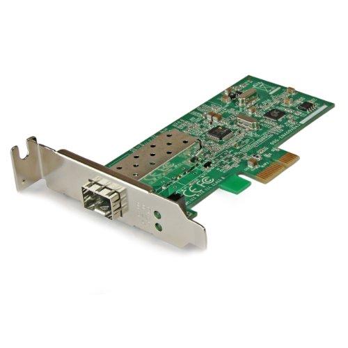 StarTech.com PCI Express 10/100 Mbps Ethernet Fiber SFP Network Adapter NIC - PCIe 10/100 SFP Fiber Optic Network Card - Server Adapter (PEX100SFP)