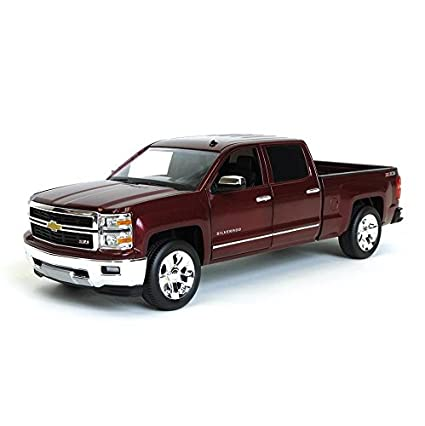Amazon Com Norscot 1 24th Deep Ruby Metallic 2014 Chevrolet