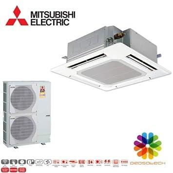 PLA-ZM100EA-PUHZ-SHW112VHA-A - Casete de techo (4 vías, 10,0 kW): Amazon.es: Bricolaje y herramientas