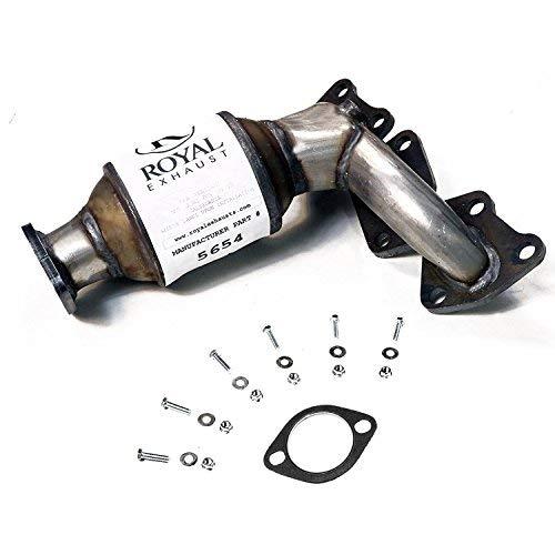 Catalytic Conv compatible with 2006-2008 Hyundai Sonata 3.3L 2007-2008 Azera 3.3L 2007-2008 Entourage 2006-2008 Azera 2006-2010 Kia Sedona 2007-2009 Amanti 3.8L Rear Right Side Manifold
